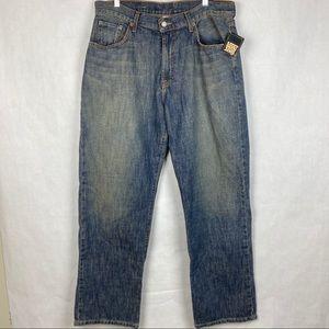 Lucky Brand Dungarees Loose Fit Regular Length